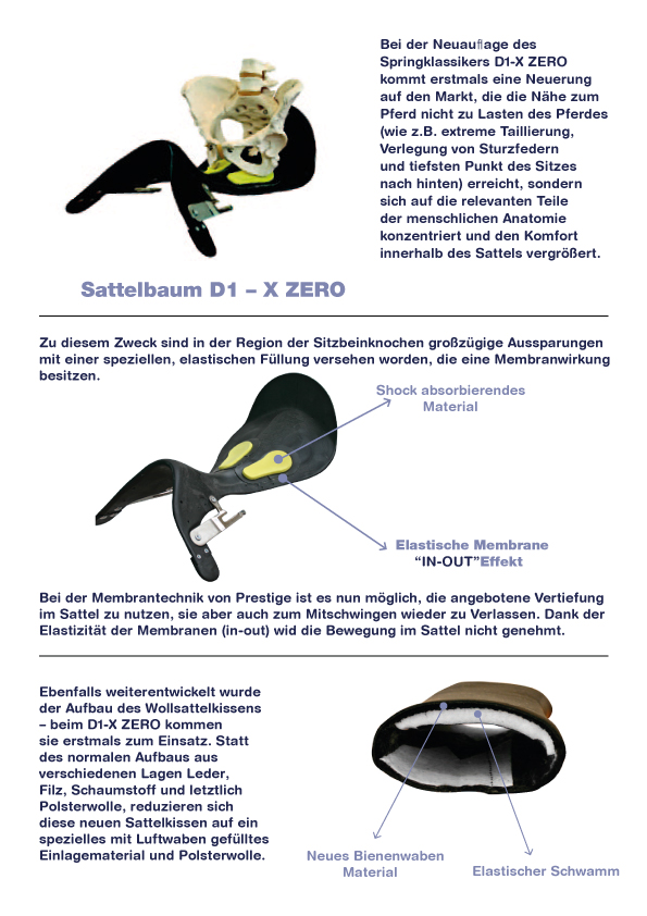 Prestige - Dressursattel X-D1D K / Lux - Horseheim