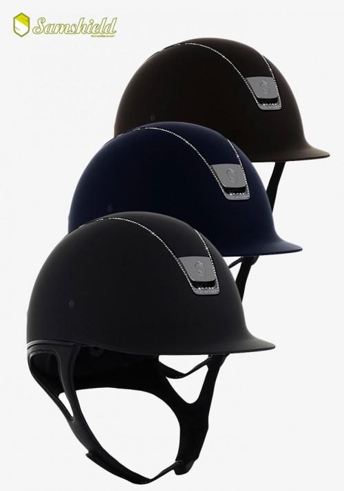 Samshield - Shadow Matt 255 Swarovski Crystal Helmet