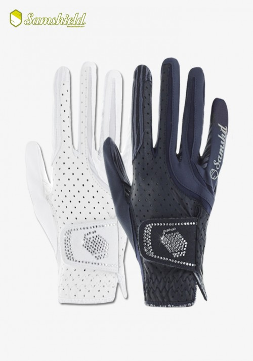 Samshield - Riding Gloves V-Skin Swaroski