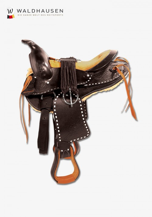 Waldhausen - Round Skirt Western Saddle, Bonanza