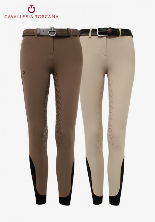"Cavalleria Toscana - Kinderreithose Full grip ""CT Line System Breeches"