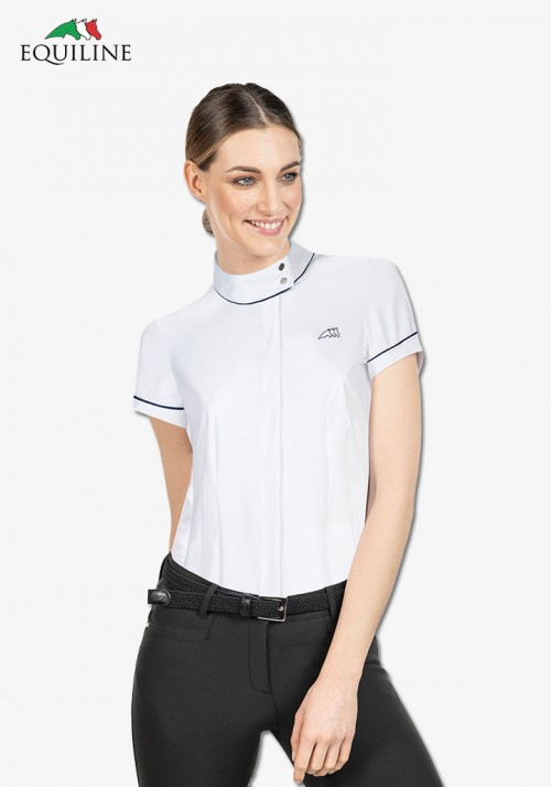 Equiline - Women's Polo Shirt Havana
