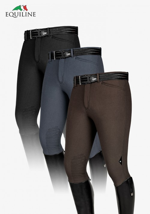 Equiline - Winter Men's Knee Grip Breeches Willy