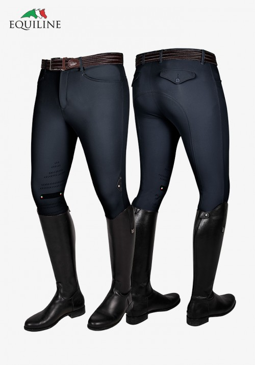 Equiline - Winter Men's Knee Grip Breeches Atos