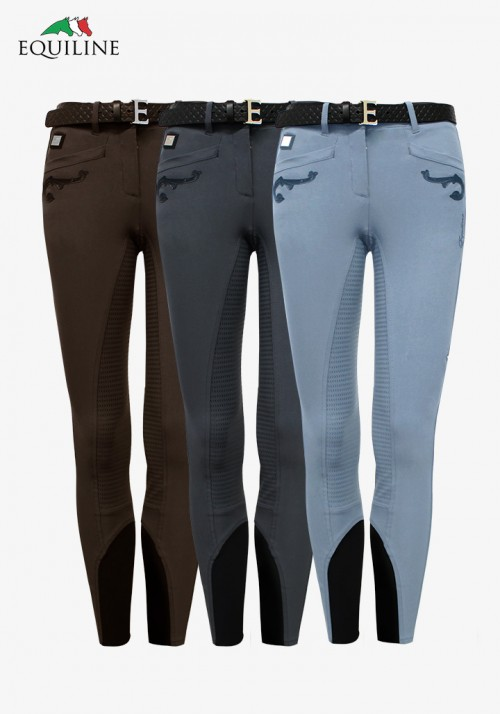 Equiline - Women's Full Grip Breeches Cedra