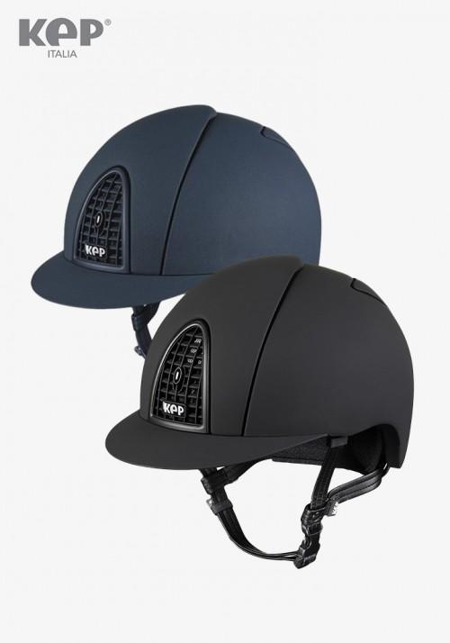 Kep - Riding Helmet Cromo Textile / Matte border