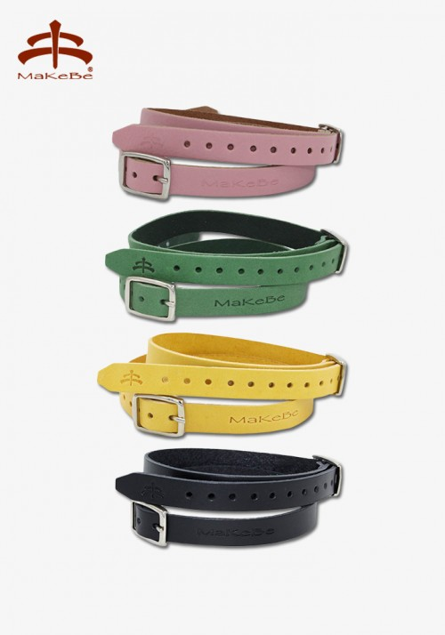 Makebe - Spur strap, colored leather