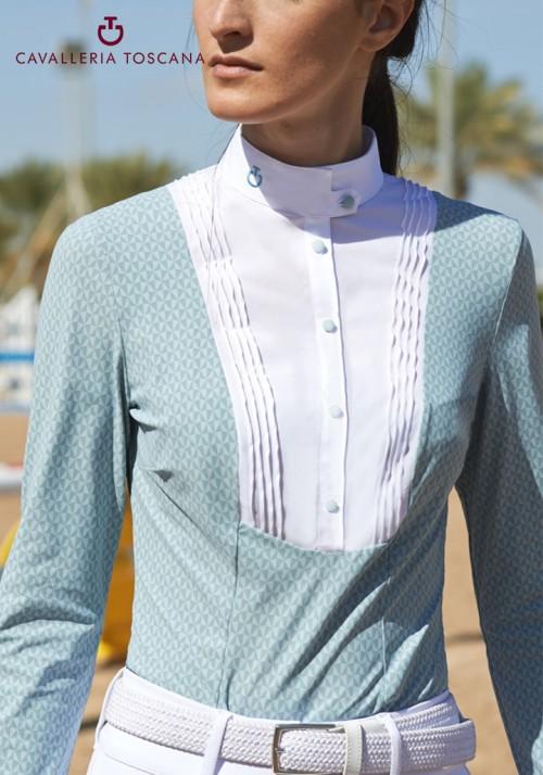 Cavalleria Toscana - Techn Shirt W/Bib L/S