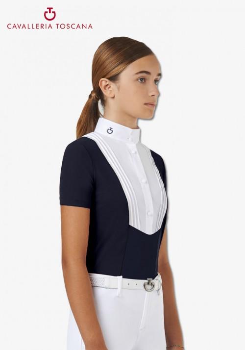 "Cavalleria Toscana - Girl Turniershirt ""Young Rider BiB SS"""