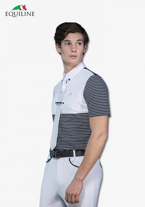 Equiline - Men's  Polo competition s/s Shirt Aram
