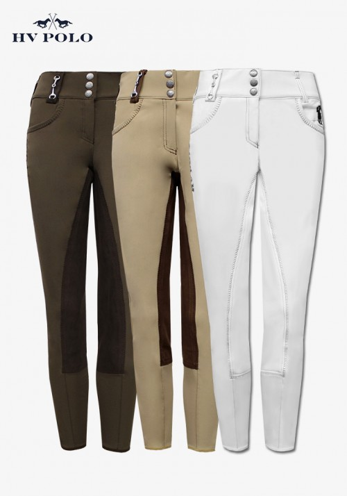 HV Polo - Women's full patch breeches Lolazo I