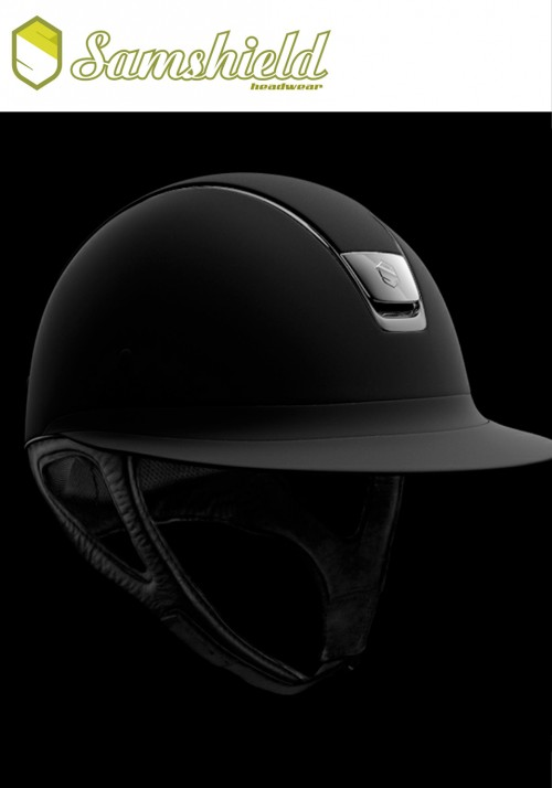 Samshield - Riding helmet Samshield - Reithelm Miss shield shadowmatt