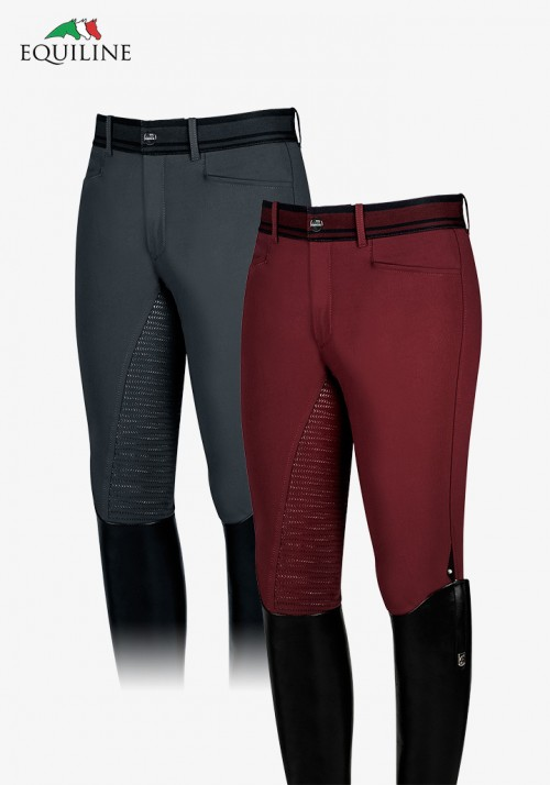 Equiline - Men's Full Grip Breeches Wallaby