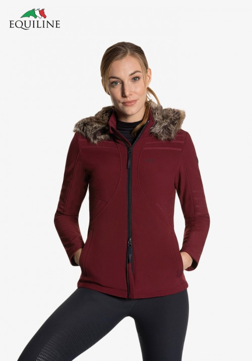 Equiline - Woman Soft Shell Jacket Clemantis