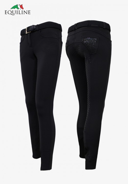 Equiline - Winter girl's and  Women's Full Grip Breeches Ariel