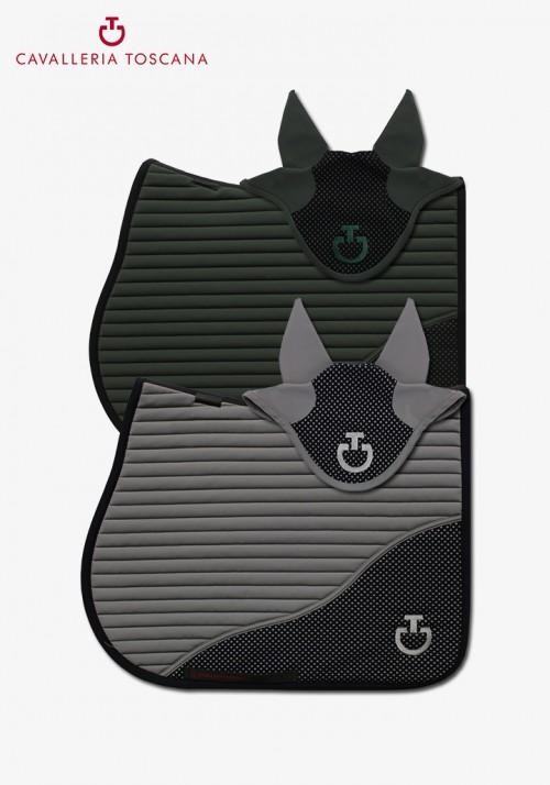Cavalleria toscana - Diamond Perforated Jersey Inserts Saddle Pad