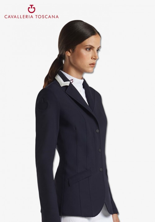 Cavalleria Toscana - 3 Color Collar Riding Jacket
