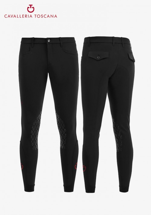 Cavalleria Toscana - Men's Grip Knee-Patch Breeches