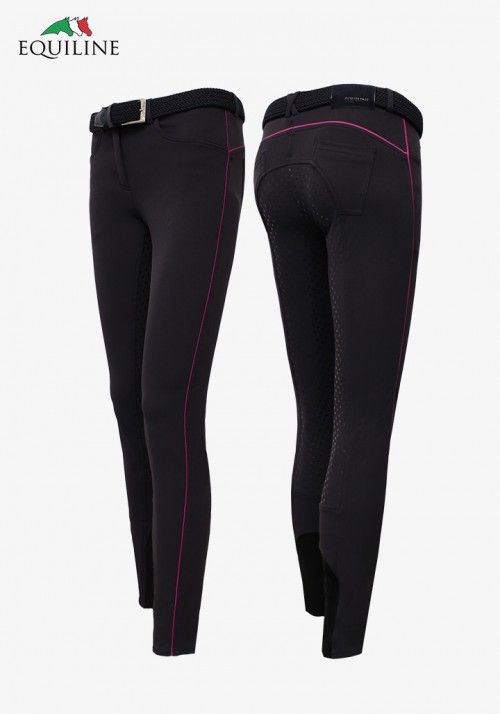 Equiline - girl's and  Women's Full Grip Breeches Jade