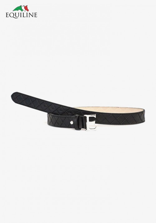 Equiline - Women's Leather Belt W/Buckle Souvage