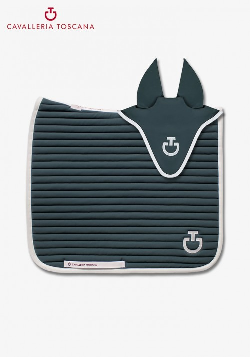 Cavalleria toscana - Quilted Row Jersey Saddle Pad