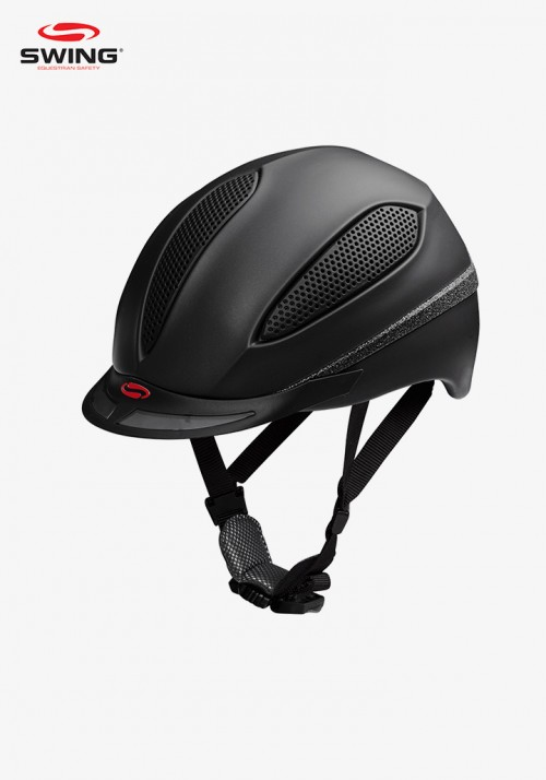Swing - Riding Helmet H16 dark shine