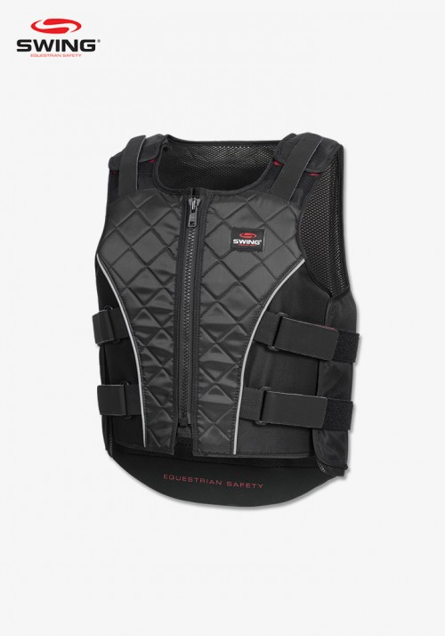 Swing - P19 body protector with zip, children