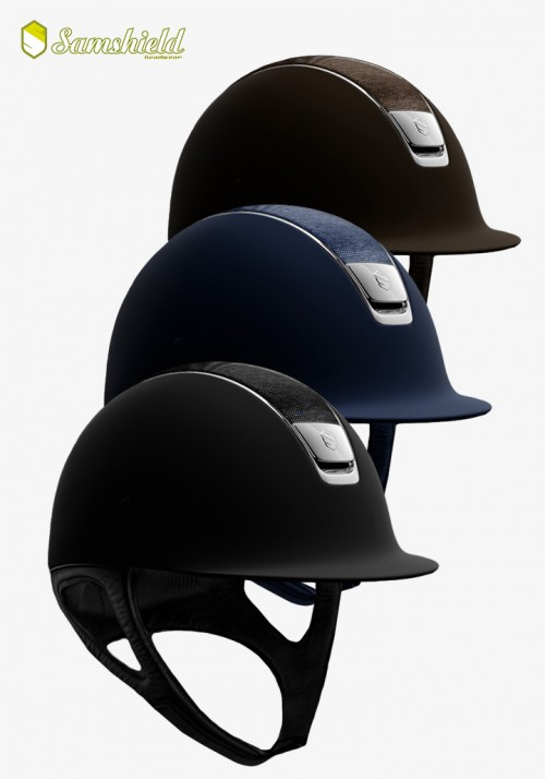 Samshield - Riding Helmet Shadowmatt Shimmer