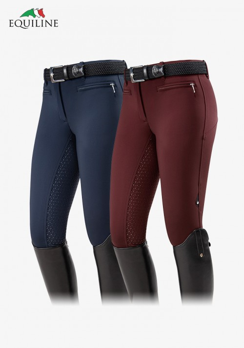 Equiline - Winter Women's Softshell Full Grip Breeches Erave