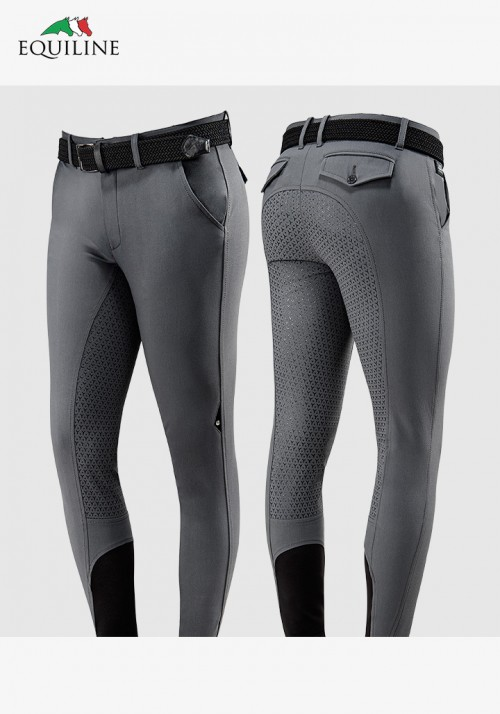 Equiline - Men's Full Grip Breeches Eemerald
