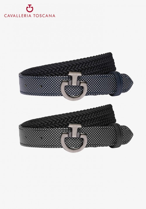 Cavalleria Toscana - Young Rider Elastic Belt W/Perforated