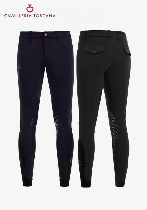 Cavalleria Toscana - Men's Grip Knee-Grip Breeches CT Team