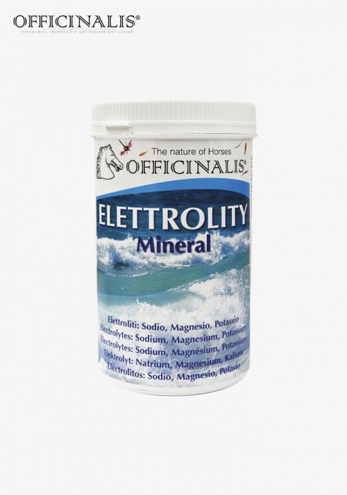 """OFFICINALIS® - """"Electrolytes & Minerals"""" complementary feed"""