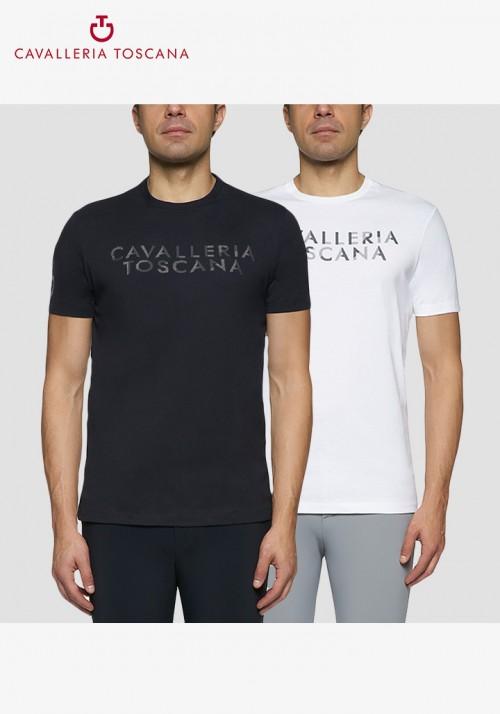 Cavalleria Toscana - Men Cavalleria Toscana Embossed T-Shirt