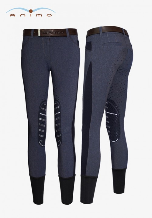 Animo - Women's Full Grip Breeches Nastel