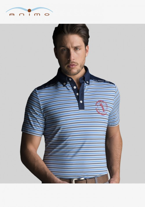 Animo - Men's Polo Shirt Arte