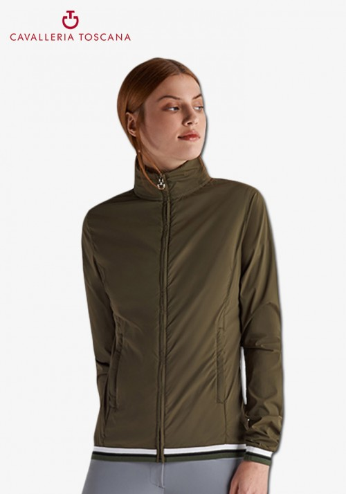 Cavalleria Toscana - Nylon Hooded Windbreaker