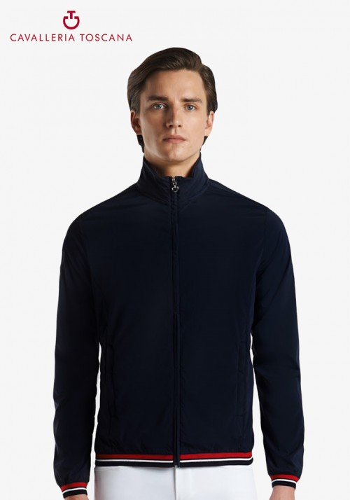 Cavalleria Toscana - Men's Nylon Hooded Windbreaker