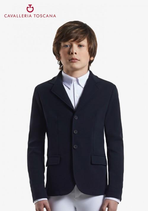 Cavalleria Toscana - Knit collar riding jacket