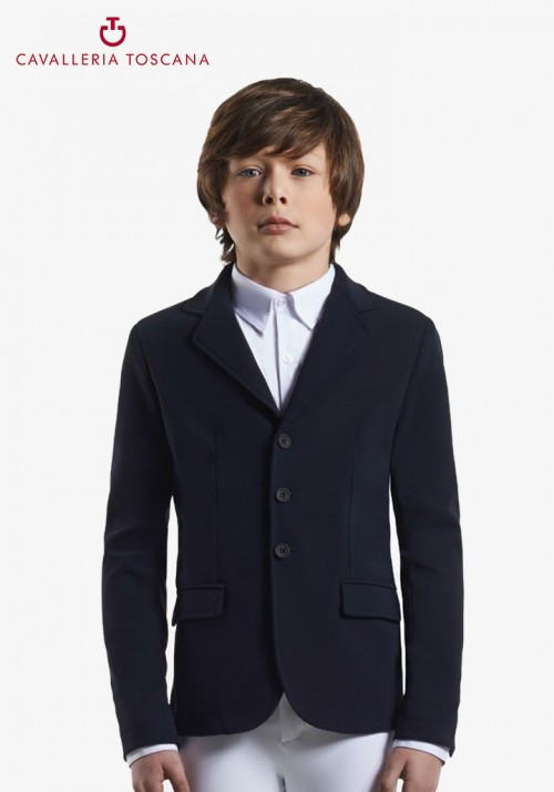 Cavalleria Toscana - Knit collar riding jacket