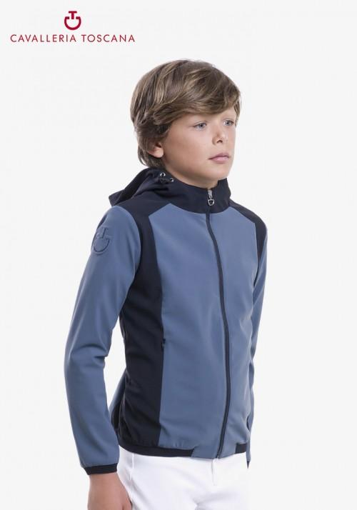 Cavalleria Toscana - Kinder Jacke Geometric Hoodie