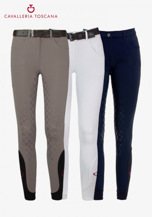 Cavalleria Toscana - Women's Full Grip Breeches CT