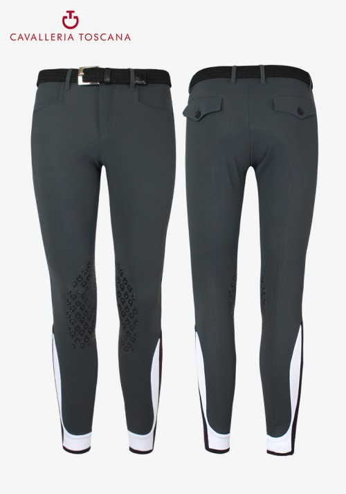 Cavalleria Toscana -Men's Knee Grip Breeches CT