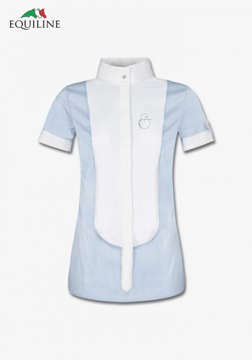 Equiline - Women's comp shirt s/s Opaline
