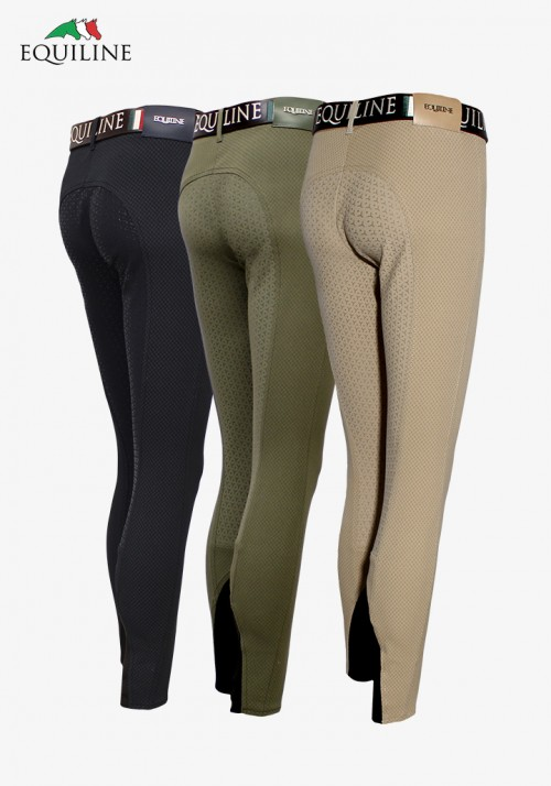 Equiline - woman full grip breeches Rose