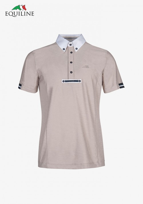 Equiline - Man competition polo shirt Vick
