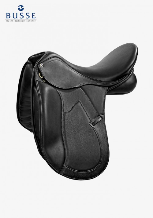 Busse - Saddle SPIRIT DELUXE, black