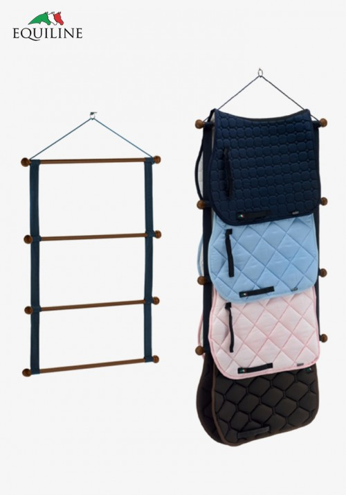Equiline - WOODEN LUXURY SADDLE PADS RACK