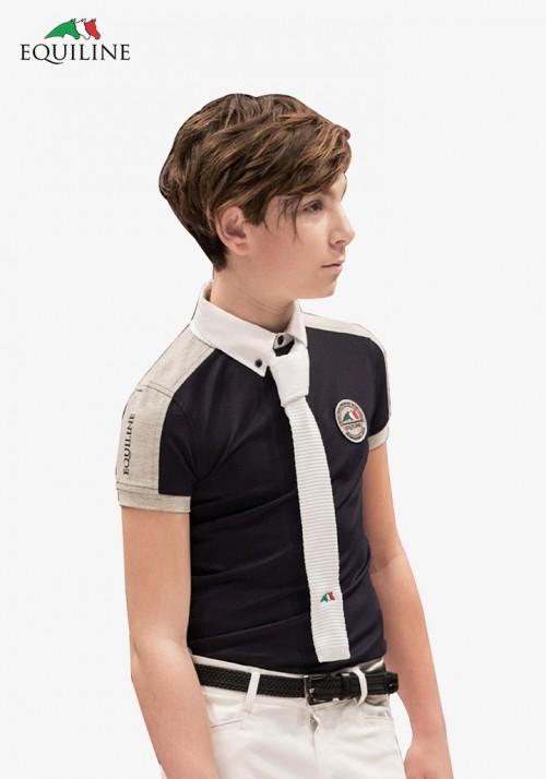 Equiline - Kinder Poloshirt Simon