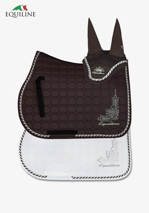 Equiline - Saddle cloth Morella with Fly veil Pria